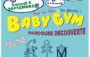 Parcours découvertes baby gym